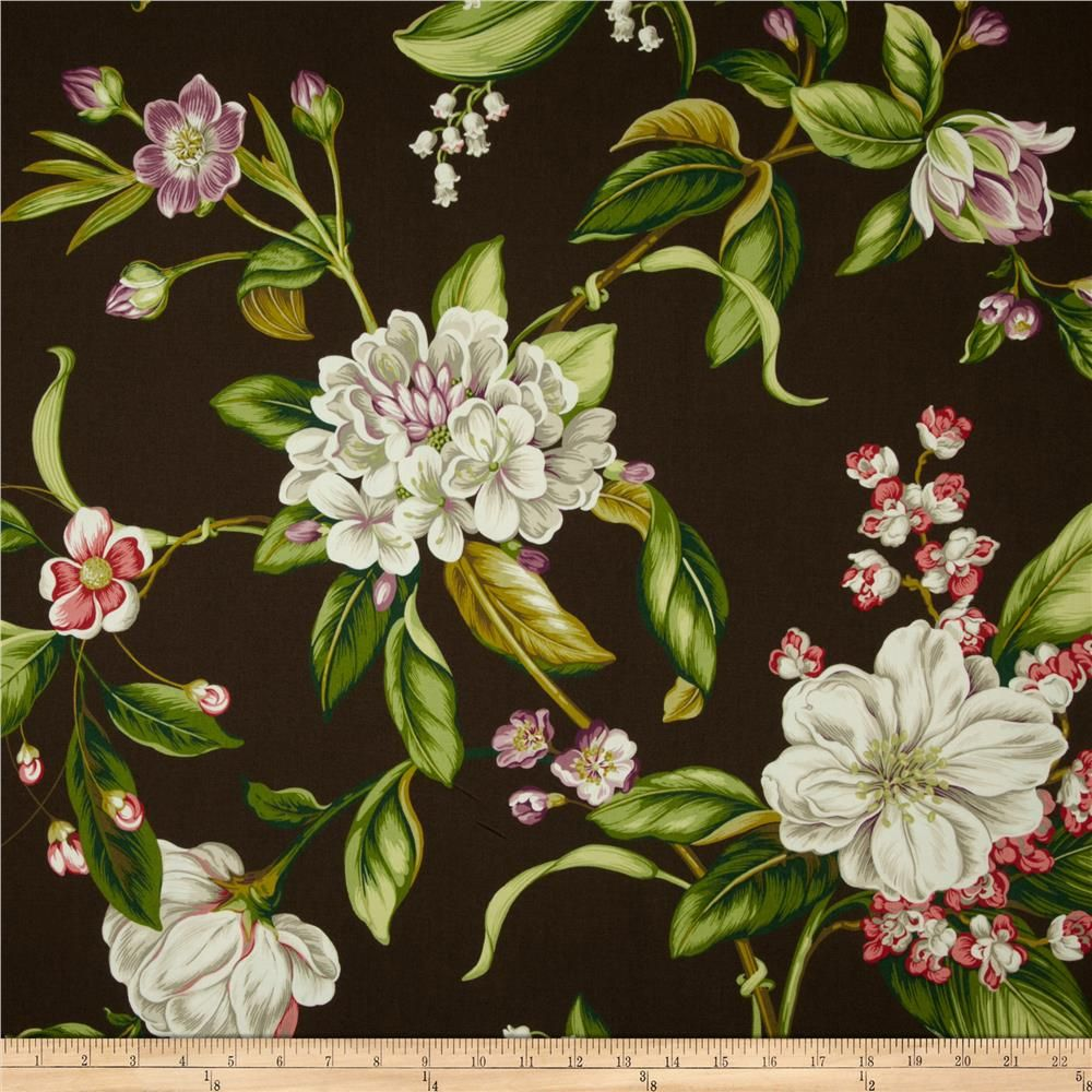 Waverly Williamsburg Collinson Floral Twill