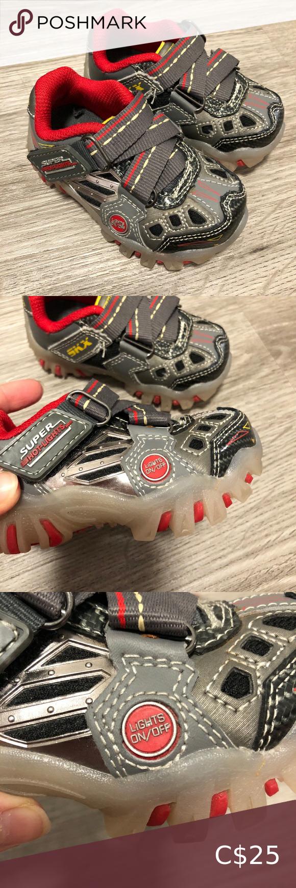 SKECHERS  Baby Lighting Running Shoes NEW