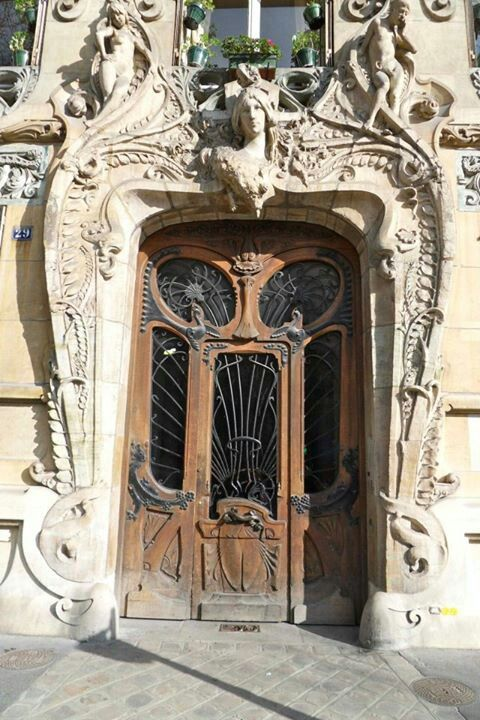 art nouveau door didnt u know its art nouveau pinterest