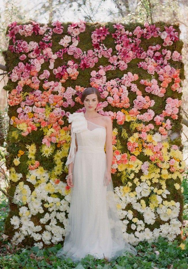 19 stunning ceremony backdrops tu boda perfecta y - Tu boda perfecta ...