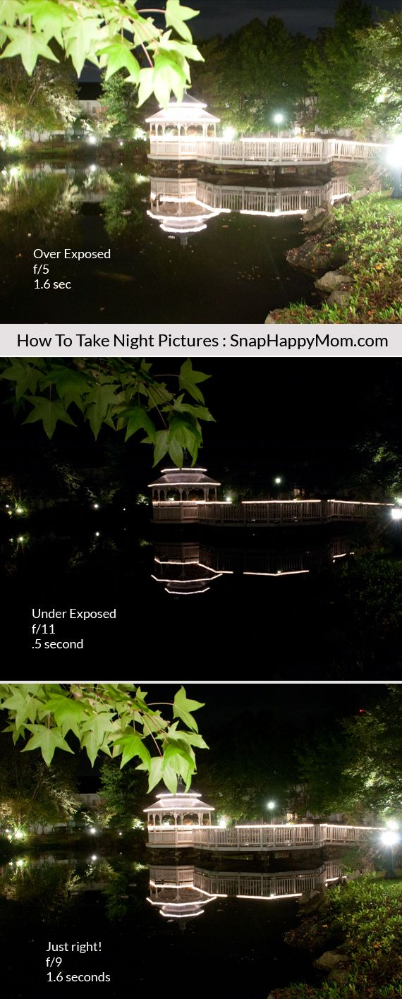 How to Take Night Pictures Of Scenery - Snap Happy Mom