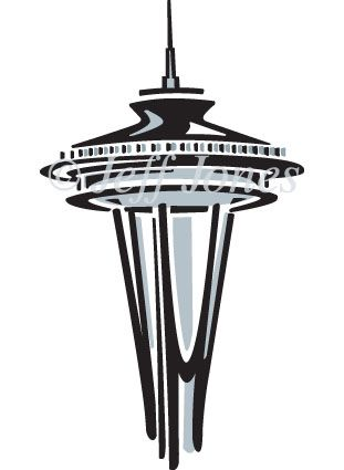 I Like The Abstract Ish Feel Of This Space Needle Icon Maybe