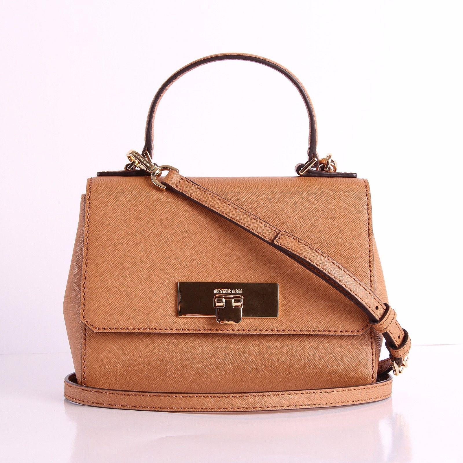 a75dc17af09d NWT Michael Kors CALLIE Leather/PVC XS Crossbody Bag Satchel Handbag $127.0