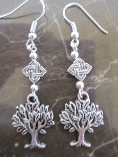 Irish-Celtic-Goddess-Knot-Tree-of-Life-Artisan-Handcrafted-Earrings-Wicca