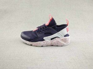 45734e1bb65d Womens Nike Air Huarache Ultra Black Pink Red White 847568 506 Running Shoes