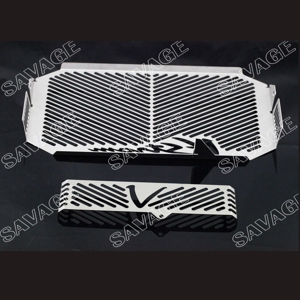 (59.84$)  Watch now - http://aigze.worlditems.win/all/product.php?id=32344641450 - Motorcycle Radiator Grille Guard Cover Protector & Oil Cooler Protector For DL650 V-Strom 2004-2010