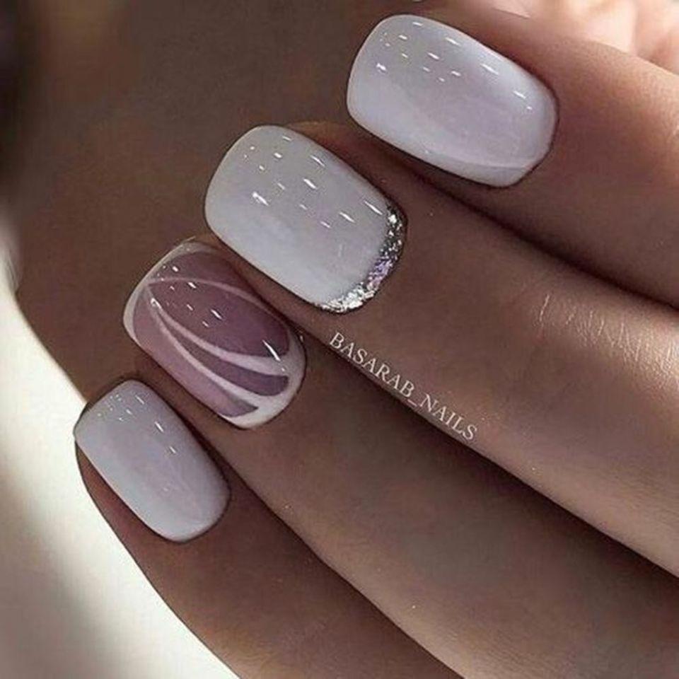 15 wedding beautiful nails ideas