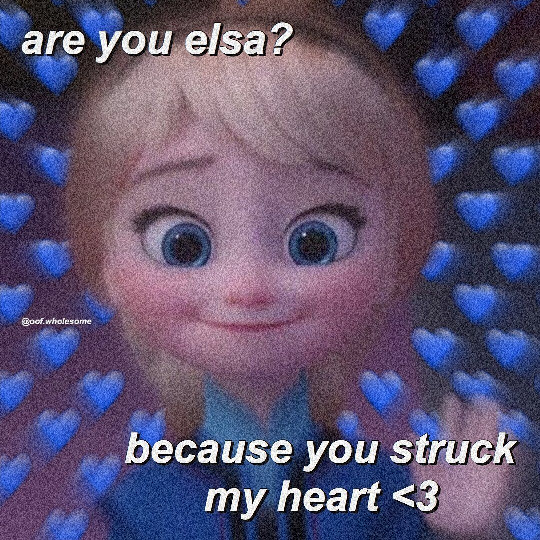 u struck my heart 😖💘 • • • tag that special someone! 🙈 • • • • • • #wholesome #wholesomememes #memes #cute #cutememes #wholesomeedits #wholesomeness #cutewholesome #disney #elsa #pickuplines #hearts #heartmemes #cutehearts #frozen #disneymemes #explorepage #explore #wholesomecrushmemes #wholesomebfmemes #wholesomegfmemes #sendthistoyourcrush #couples #crushmemes #boyfriend #girlfriend #significantothers #love #lovememes #iloveyou