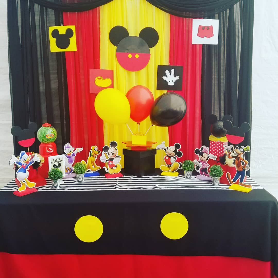 Mickey Mouse Party Ideas And this set up is available in
