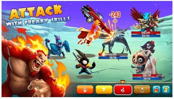 Download Game Android Simulasi Monster Legends 7.5.3 Apk
