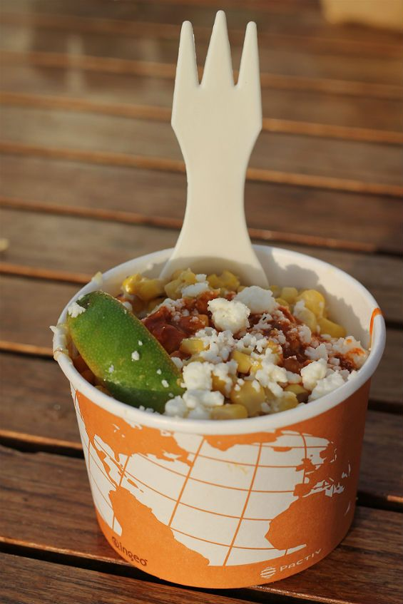 Elotes from Velvet Taco in Dallas. How soon can I go back to Dallas for some elotes? I hear them calling me home.