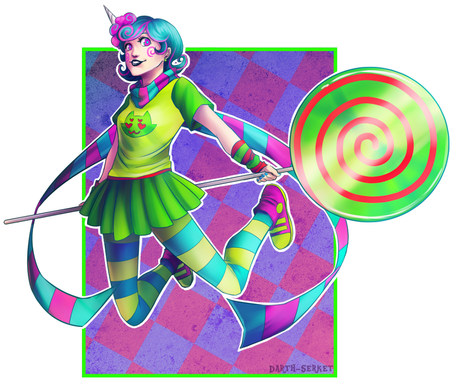 Trickster Roxy by DarthSerket on deviantART Homestuck