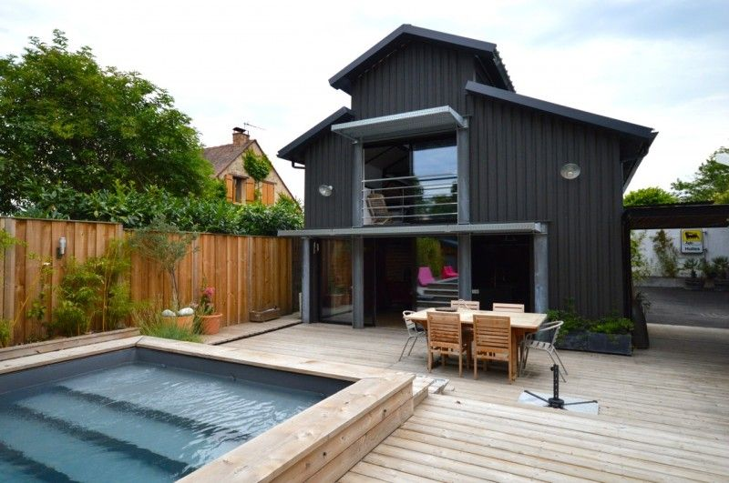 Loft industriel avec piscine à vendre à Bordeaux Lofts, Archi
