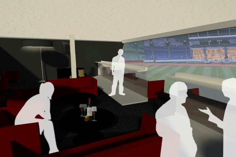Redesign vip vvip room at gbk stadium jakarta presidential for Redesign room