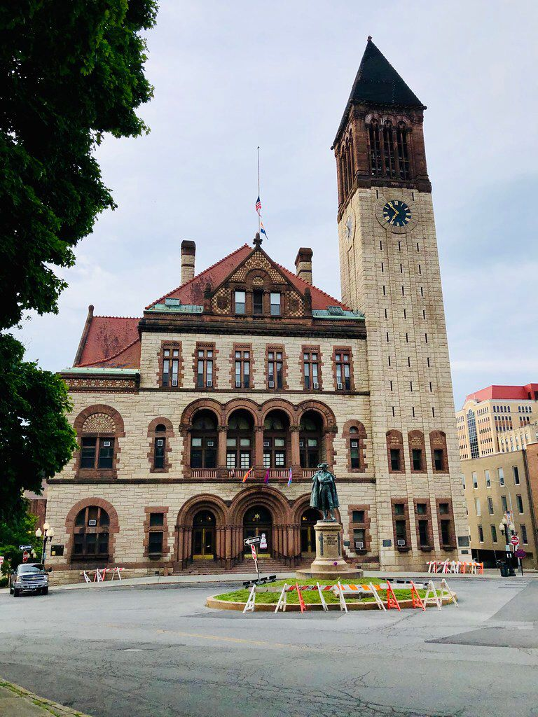 Historic Albany County Courthouse in Albany, New York