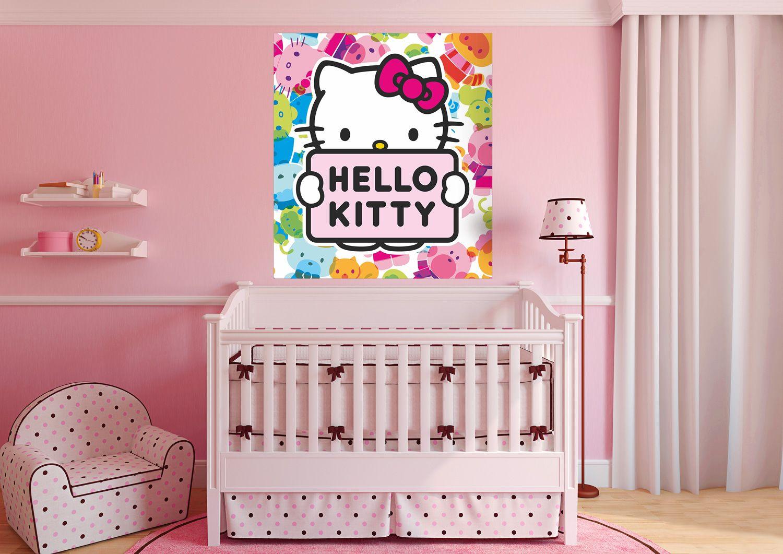 Hello Kitty Kidu0027s Room Wall Mural By WallandMore!