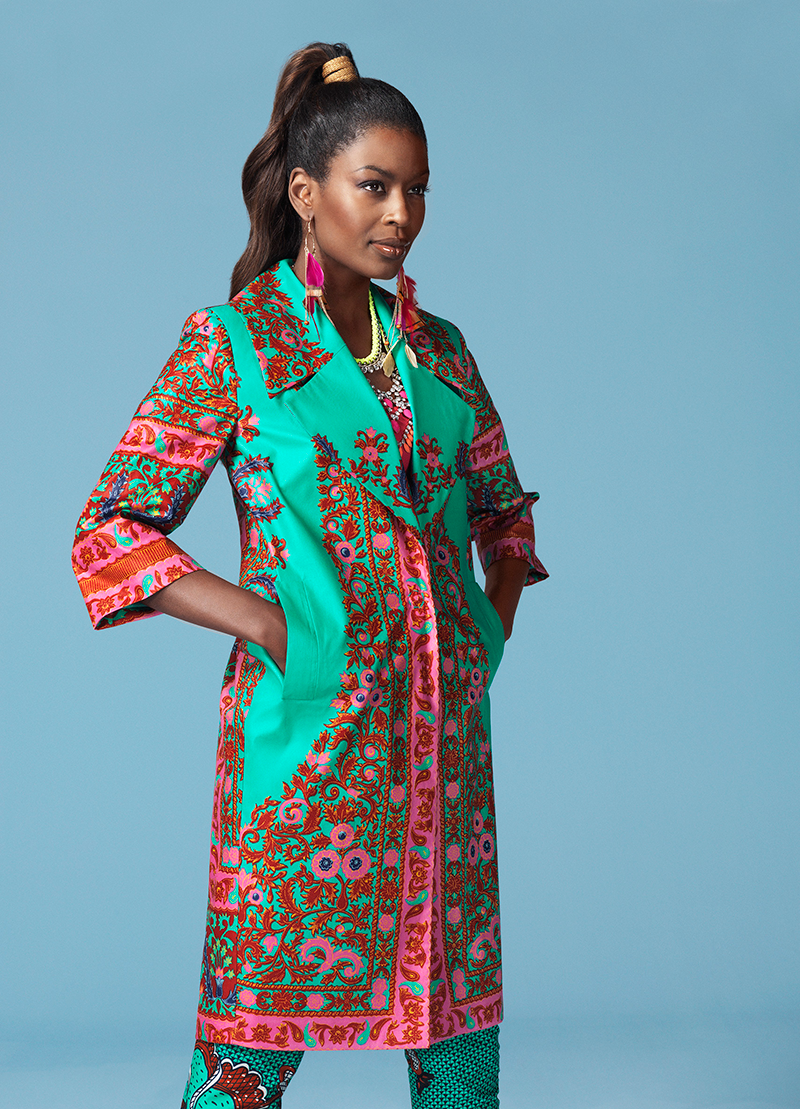 Célébrez la garniture florale vivace de ce tissu Java en l\'utilisant ...