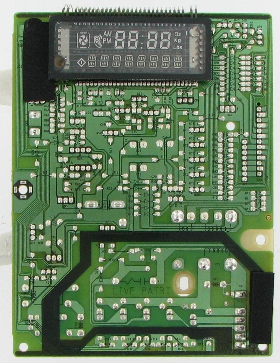 microwave control board