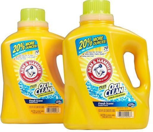 Hot Arm Hammer Laundry Detergent Only 1 33 With New 3 Coupon