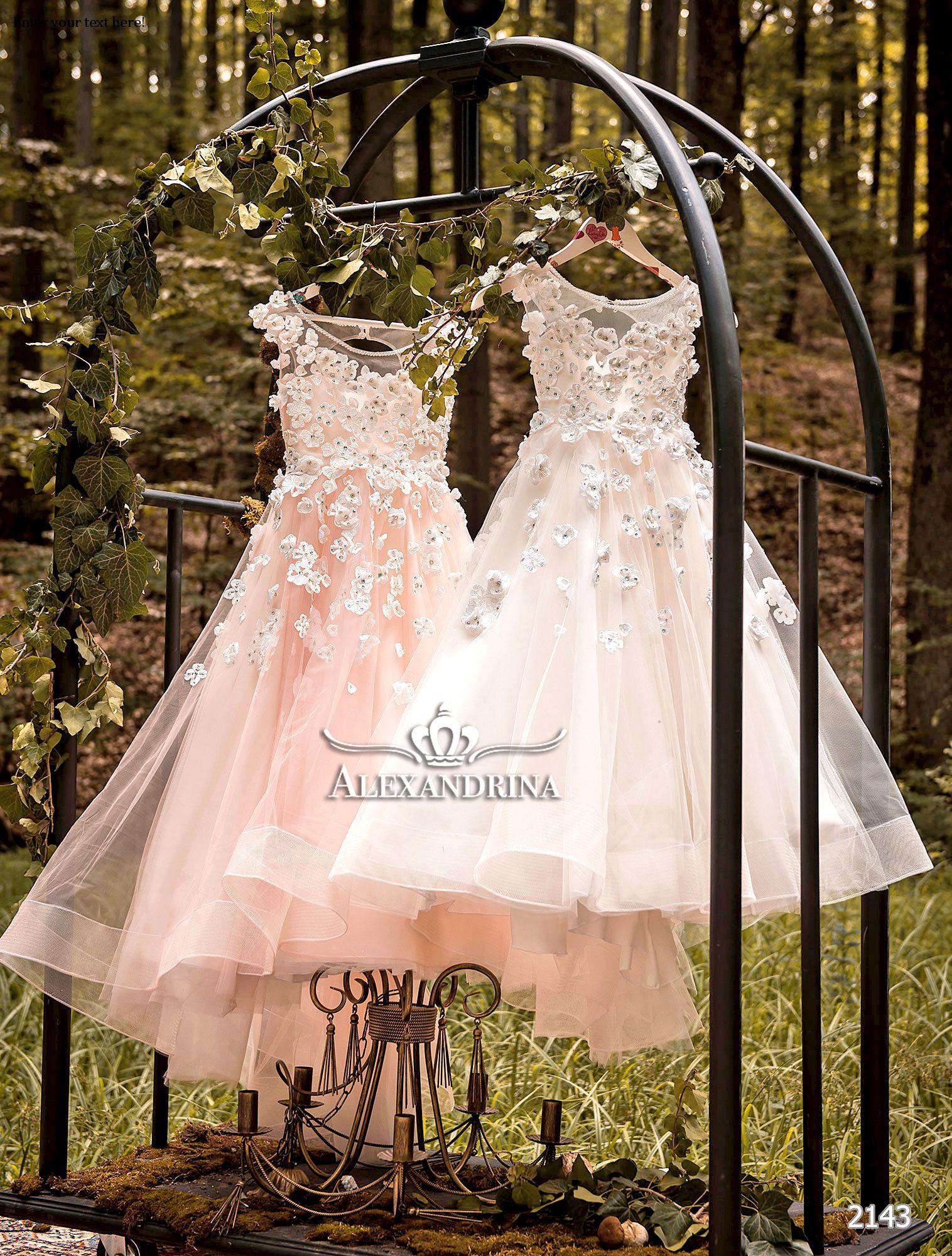 1b505e3b3b 2143   Flower girl dresses   Flower girl dresses, Dresses, Dresses ...