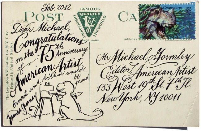 Calligraphy Postcard American Artists Artist Competitions Artist