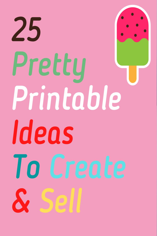 Pin on Make Printables to Sell