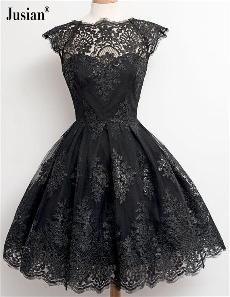 Jusian womenus lace dress ball gown dress farmal dress black f
