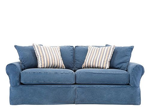 Cindy Crawford Home Brynn Sofa Home Amp Garden Sofa Shop Denim Couch Denim Sofa