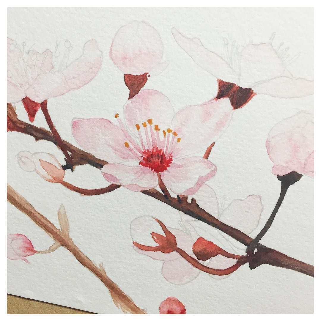 76/100 - Apple blossoms #wip A bit more work on these ladies tonight