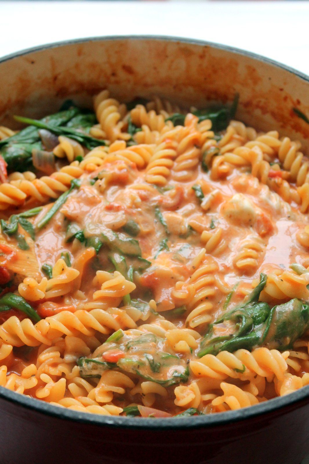 One Pot Pasta With Tomato Amp Mascarpone Sauce Recept