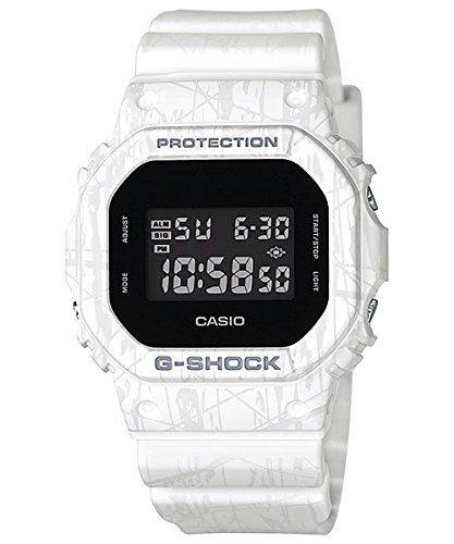 2f3586f87 Casio GShock Digital Dial White Printed Resin Quartz Mens Watch DW5600SL7 *  Continue to the product at the image link.Note:It is affiliate link to  Amazon.