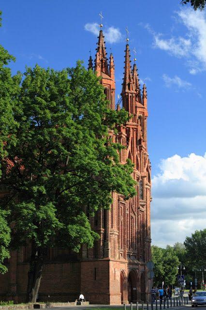 St. Anna church, Vilnius, Lithuania