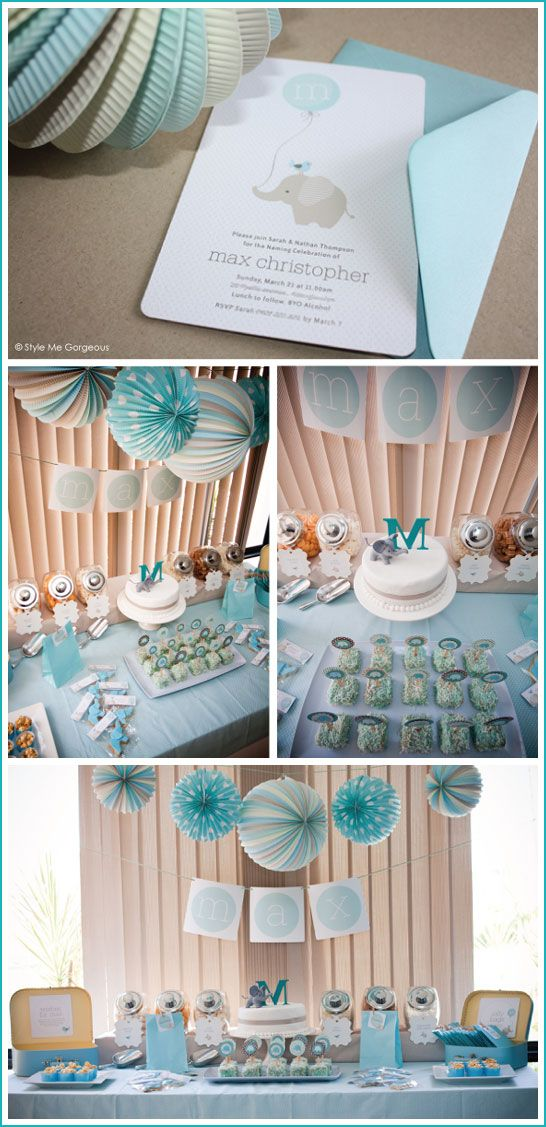 Real Party Elephant Baby Shower Baby Someday Pinterest Baby