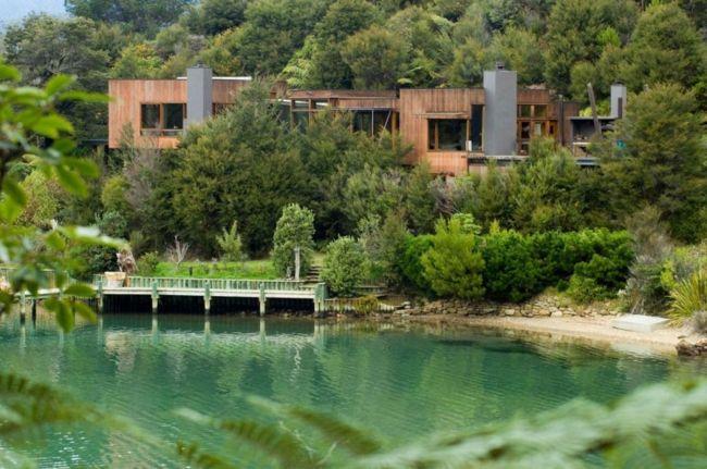 Traumhäuser » Naturnah Leben U2013 Haus Am See Verbindet Architektur Und Natur # Architektur #leben #natur #naturnah #traumhauser #verbindet