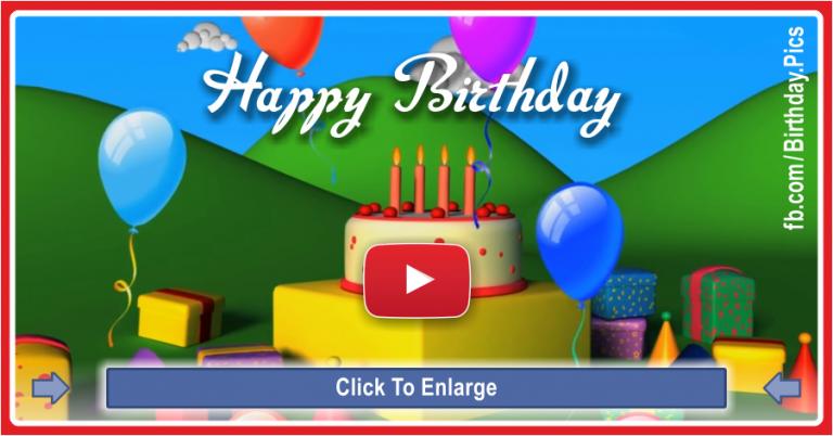 Happy Birthday To You Happy Birthday Video Happy Birthday Kids