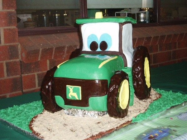 tractor cakes for boys Google Search Party Ideas Pinterest