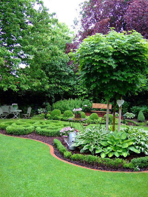 Gesamtanblick Garten Garten Landschaftsbau Gartenbuddelei