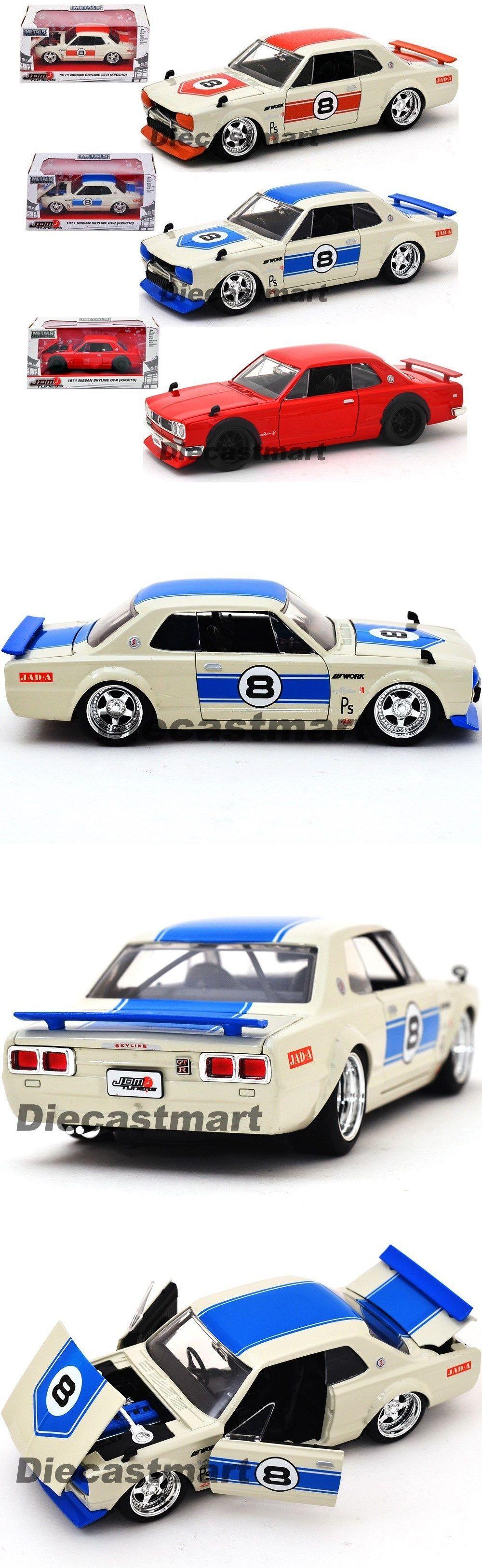 Jada car toys  Jada jdm tuners   nissan skyline gtr kpgc diecast model