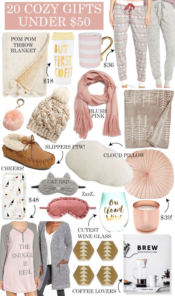 20 Cozy Gift Ideas Under 50
