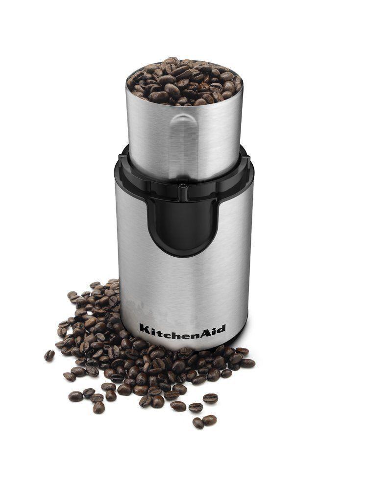 Kitchenaid bcg111ob heavy duty blade coffee grinder with