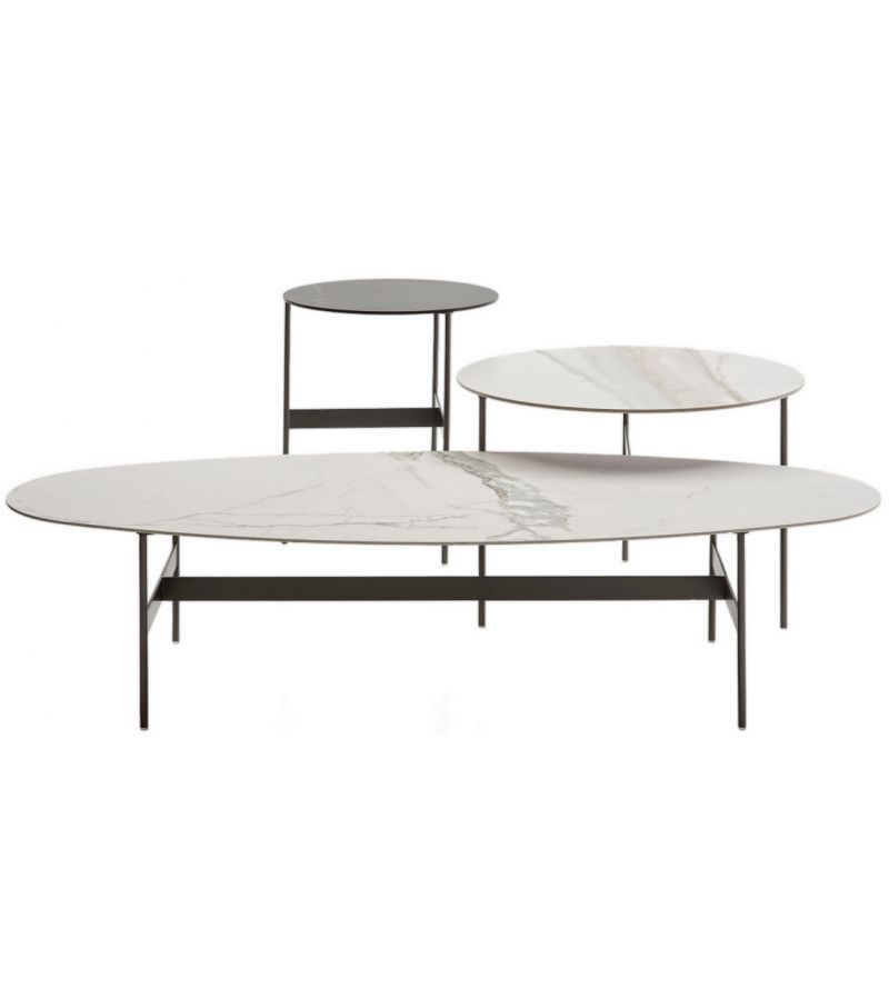 Formiche B B Italia Occasional Table Table Basse Ovale Table Basse Coffee Table Design