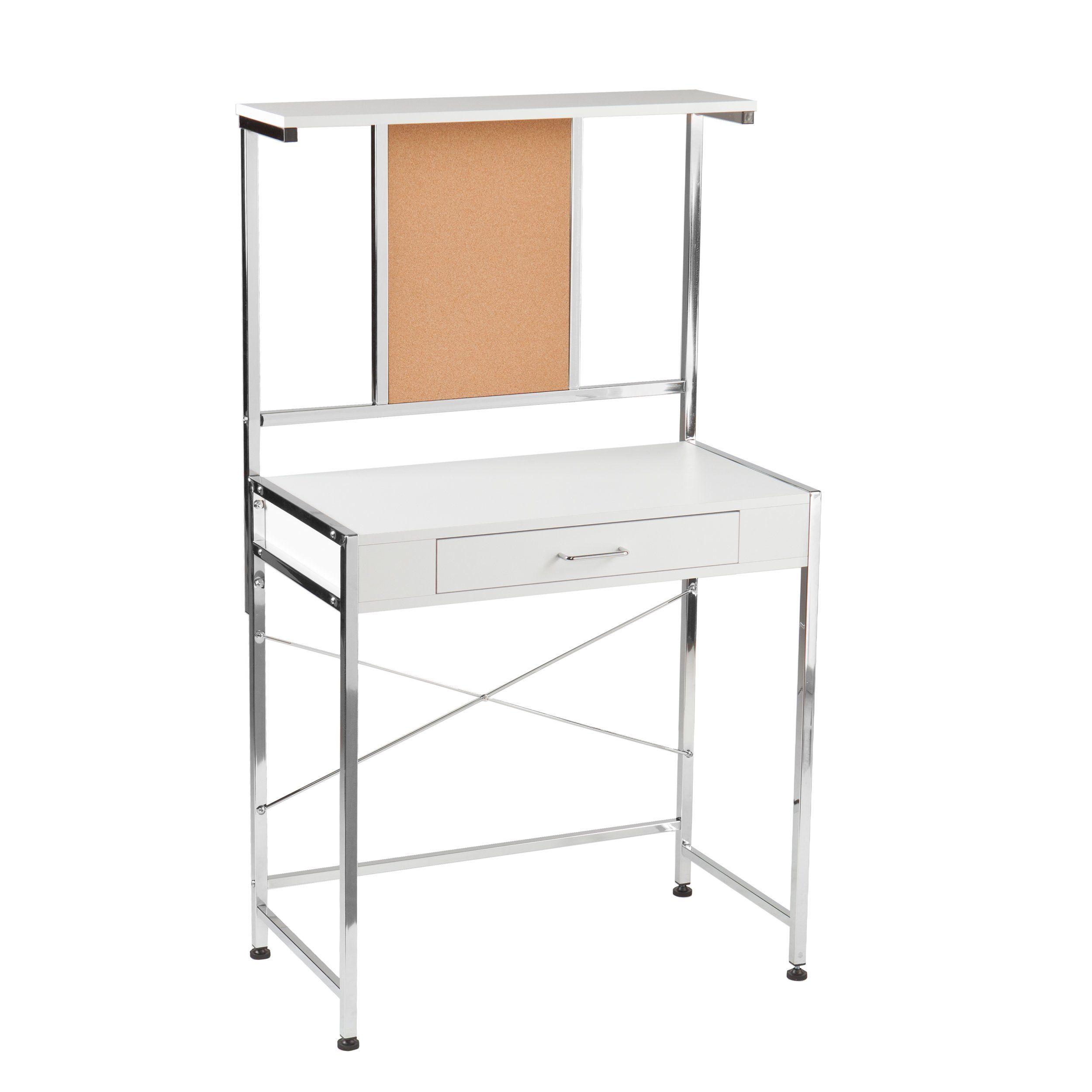Southern Enterprises Banfield Multifunction Desk, White