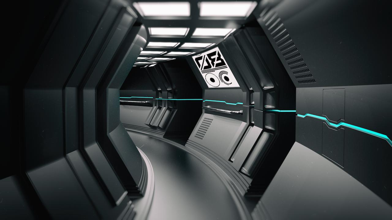 Cyberstation999 Photo 宇宙船インテリア Sf 背景 宇宙ステーション