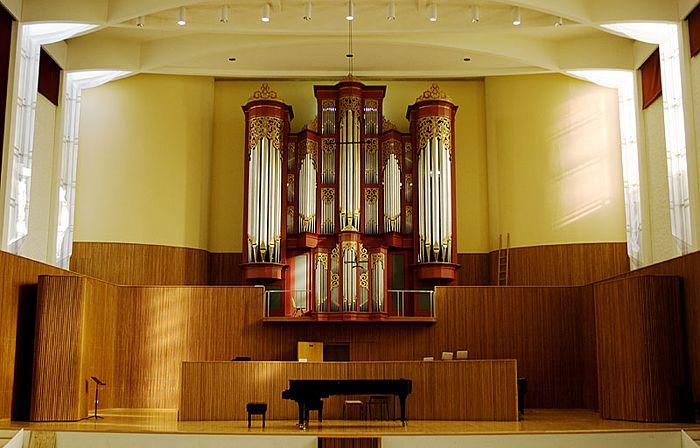 85 Interior Design Colleges Ohio 1974 Flentrop Orgel Bij Warner Concert Hall Aan Het