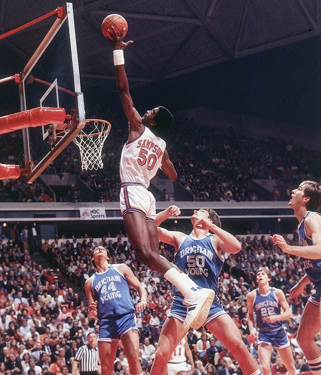 Ralph Sampson was three time national player of the year