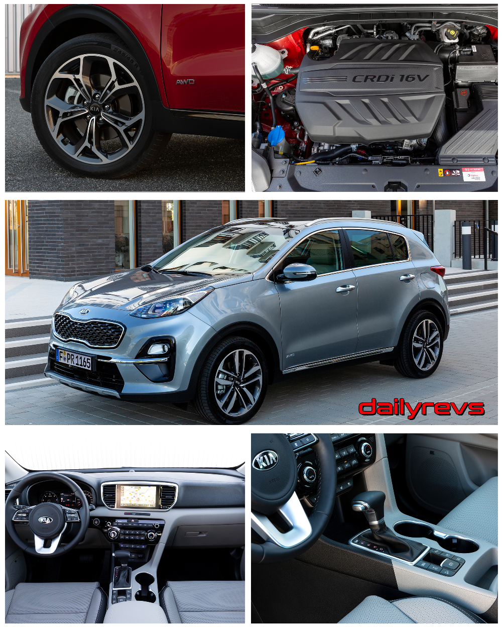 2019 Kia Sportage Hq Pictures Specs Information And Videos Dailyrevs Kia Sportage Kia Sportage