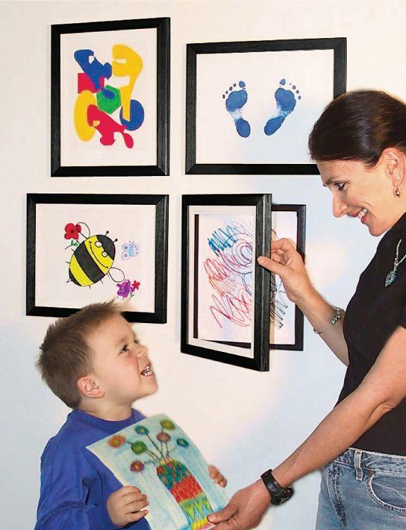 Lil Davinci 85 X11 Art Gallery Pkg Ldk4 Frame Kids Art Art Display Kids Kids Artwork