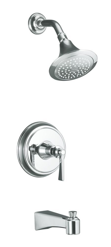Archer Bath And Shower Faucet Trim Valve Not Included In Polished