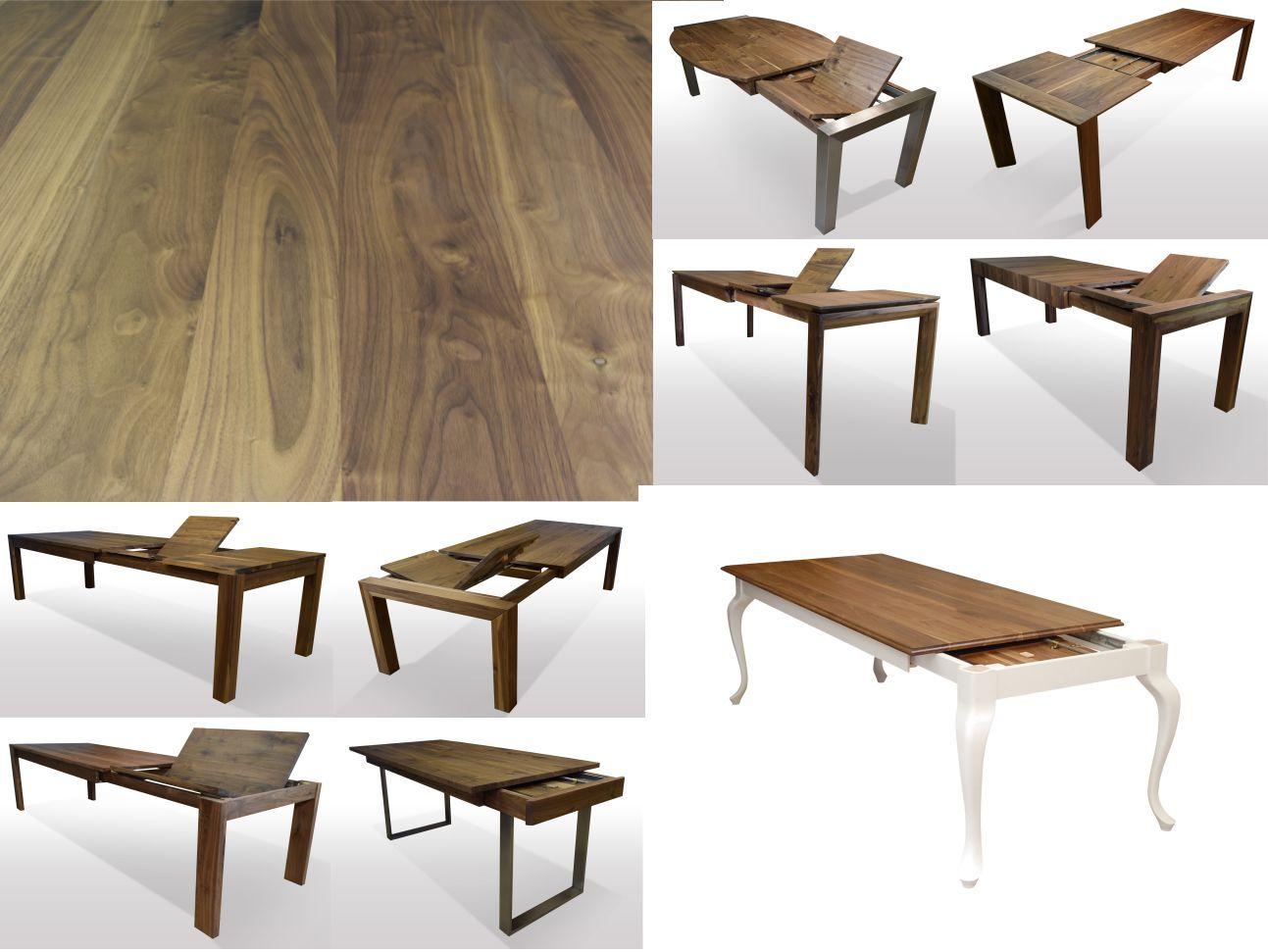 Tisch Nussbaum Massiv Breite 100cm Lange Wahlbar Esstisch
