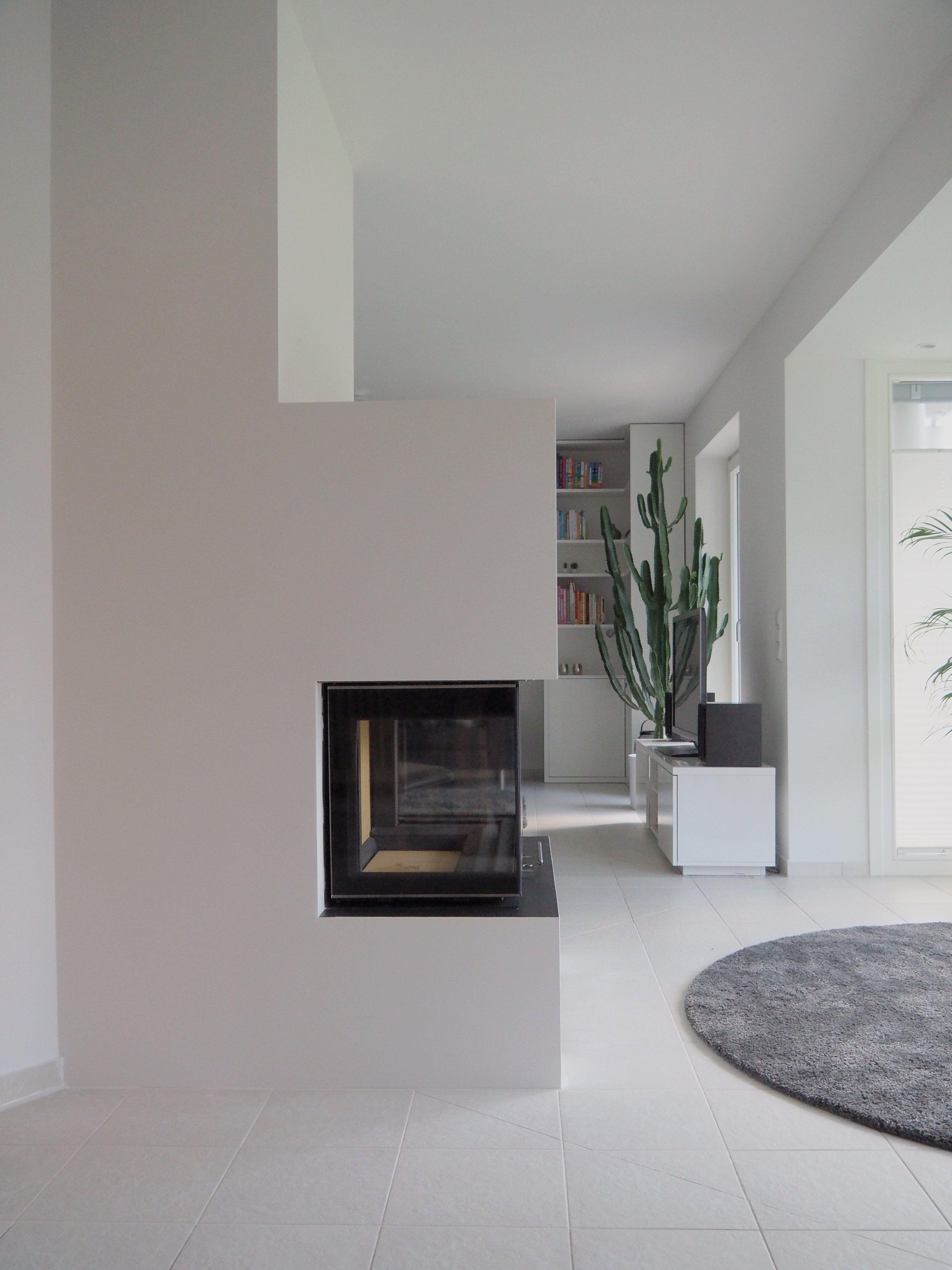 3 Seitiger Heizkamin Gebaut Von Scheidter + Trautmann Ofenbau,  Dinkelscherben Kamin Wohnzimmer, Kamin
